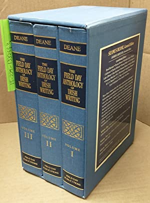 The Field Day Anthology of Irish Writing: Deane, Seamus [Editor]