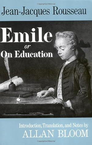 Image du vendeur pour Emile: Or On Education mis en vente par My Books Store