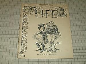 1901 Life Magazine: Teddy Roosevelt & William