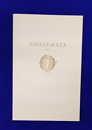 Emblemata : Symbolic literature from the European Renaissance from the collection of Robin Raybould.