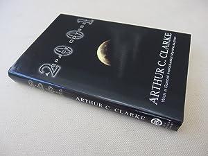 2001: A Space Odyssey (unique item signed: Clarke, Arthur C.