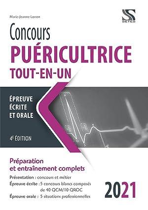 concours puéricultrice - tout-en-un (édition 2021): Lorson, Marie-Jeanne
