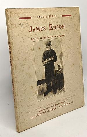 James Ensor - illustré de 32 reproductions: Fierens Paul
