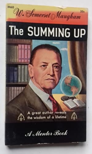 The Summing Up.: SOMERSET MAUGHAM.