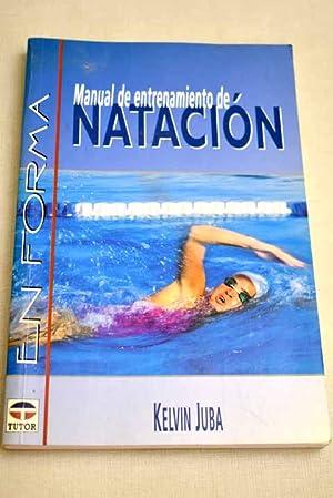 Imagen del vendedor de Manual de entrenamiento de natación a la venta por Alcaná Libros
