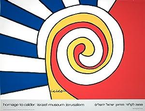 """ALEXANDER CALDER Homage to Calder 26.5"""" x: Calder, Alexander"""