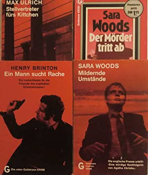 4 Krimis: Mildernde Umstände / Ein Mann: Woods, Sara /