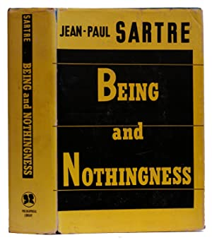 Being and Nothingness : An Essay on: Sartre, Jean-Paul; Barnes,