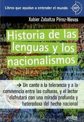 Historia De Las Lenguas Y Los Nacionalismos: ZABALTZA PEREZ NIEVAS
