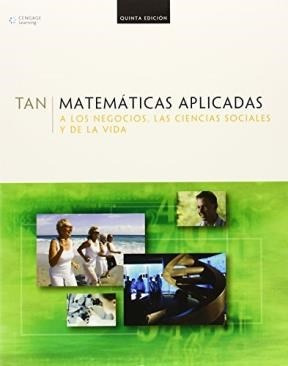 Matematicas Aplicadas A Los Negocios Las Ciencias: TANG SOO TAN