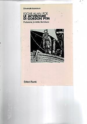 Le avventure di Gordon Pym. A cura: POE Edgar Allan.