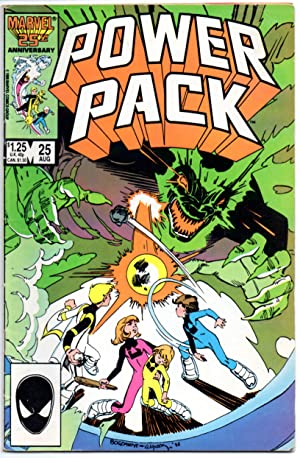 Power Pack #25 - Vol: 1 August 1986 - (48 pages)