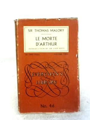 Le Morte D'Arthur Volume Two: Thomas Malory