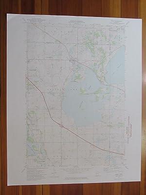 OLD ORDNANCE SURVEY MAP WELLINGBOROUGH RUSHDEN 1897 FINEDON KIMBOLTON RINGSTEAD
