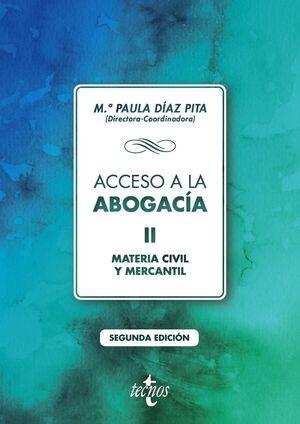Seller image for ACCESO A LA ABOGACÍA for sale by Antártica