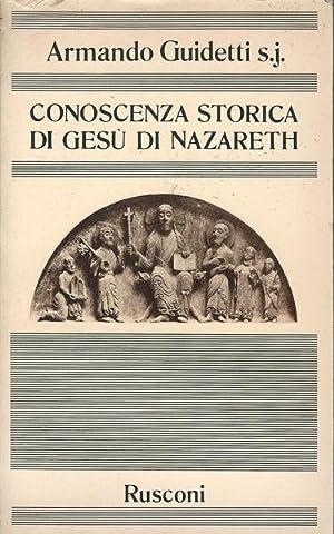Conoscenza storica di Gesù di Nazareth: Armando Guidetti