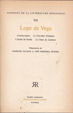 Fuenteovejuna. Le Chevalier d'Olmedo. (.): Felix Lope de