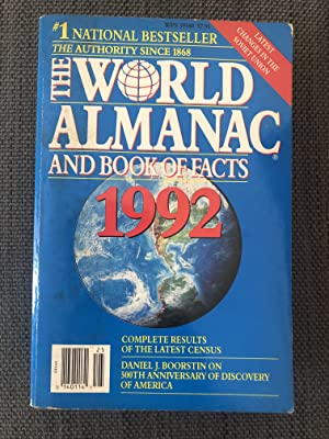 World Almanac and Book of Facts 1992: Hoffman, Mark S.