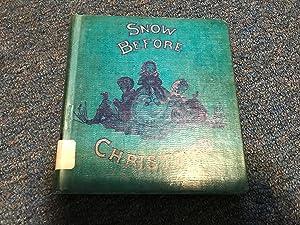 SNOW BEFORE CHRISTMAS: Tudor, Tasha