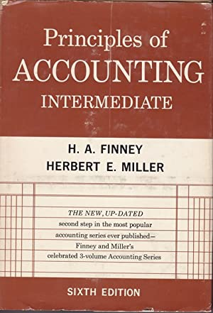 Principles of Accounting Intermediate: H. A. Finney