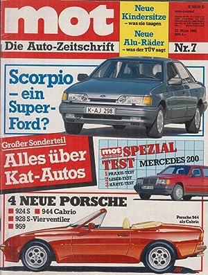 mot Die Autozeitschrift - Nr. 7 März: ohne Autor