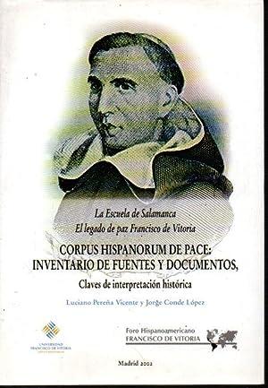 LA ESCUELA DE SALAMANCA. EL LEGADO DE: PEREÑA VICENTE, Luciano.