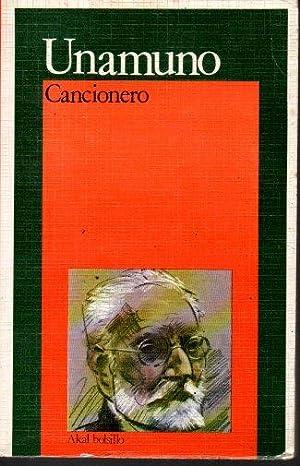 CANCIONERO.: UNAMUNO, Miguel de.