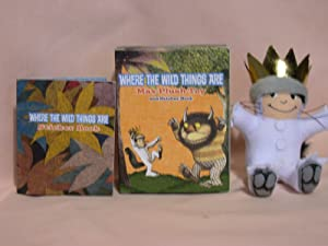 WHERE THE WILD THINGS ARE; MAX PLUSH: Sendak, Maurice