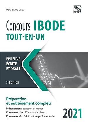 concours IBODE - tout-en-un (édition 2021): Lorson, Marie-Jeanne