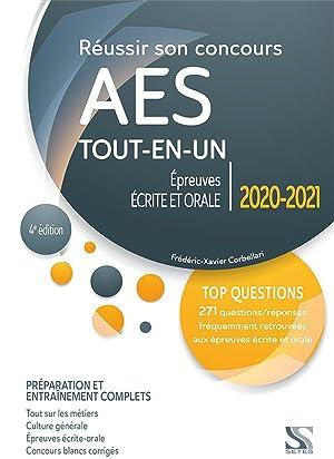 réussir son concours AES - épreuves écrite: Corbellari, Frederic-Xavier