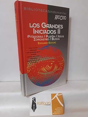 LOS GRANDES INICIADOS II (PITÁGORAS, PLATÓN, JESÚS,: SCHURÉ, EDOUARD