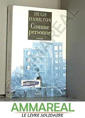Comme personne: Hugo Hamilton et