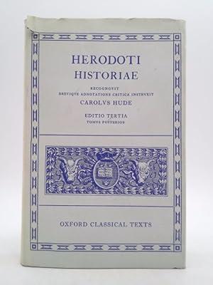 Herodoti Historiae: Carolvs Hude; Herodotus