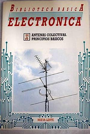 Biblioteca básica electrónica, Núm 32. Antenas colectivas.