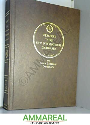 Seller image for Webster's Third New International Dictionary of the English Language Unabridged Volume 1 A to G for sale by Ammareal
