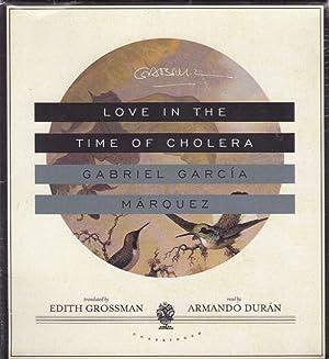 LOVE IN THE TIME OF CHOLERA [Audio: Garcia Marquez, Gabriel.