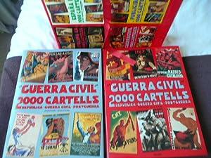 La guerra civil en 2000 cartells. Republica,: CARULLA, JORDI y