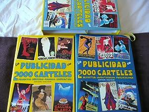 La publicidad en 2000 carteles. 2 Tomos: CARULLA, JORDI y