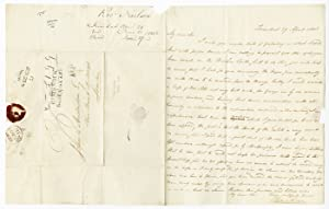 [AUTOGRAPH LETTER, SIGNED, FROM ROBERT NEILSON IN TRINIDAD TO JOHN L. ANDERDON IN LONDON, DISCUSS...