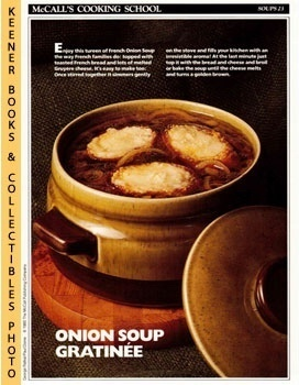 McCall's Cooking School Recipe Card: Soups 23 - French Onion Soup (Replacement McCall's Recipage ...