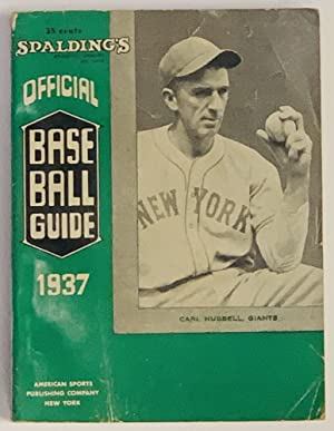 SPALDING'S OFFICIAL BASE BALL GUIDE. Sixty-first Year.: Baseball Literature]. Foster,
