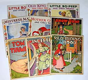 Nine Linenette and Sam'l Gabriel Picture Books: Cinderella, Snow-Drop, Red Riding Hood, Tom Thumb...