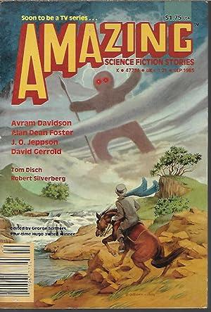 AMAZING Science Fiction Stories: September, Sept. 1985: Amazing (J. O.