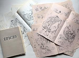 rare curiosa à 70 exemplaires] Epices. Réflexions