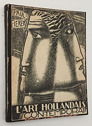 L'Art Hollandais contemporain. Couverture et dessins dans le texte par Leo Gestel