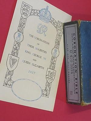 Coronation Bible: Royal Minion Centre Reference Edition