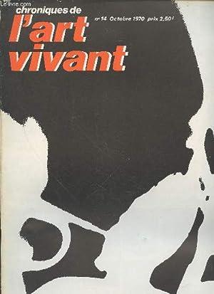 Chroniques de l'Art Vivant n°14 Octobre 1970.: Maeght Aimé, Collectif