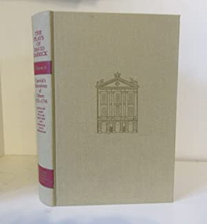 The Plays of David Garrick, Volume 6: Garrick, David ;