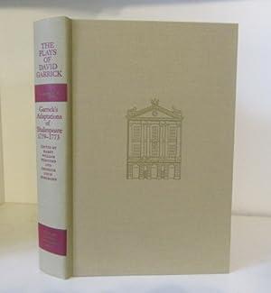 The Plays of David Garrick, Volume 4: Garrick, David ;