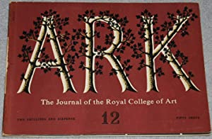 Ark : The Journal of the Royal College of Art, no. 12, Autumn 1954